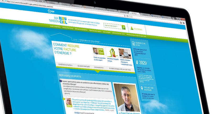 [Energie] EDF aide ses clients à moins consommer…