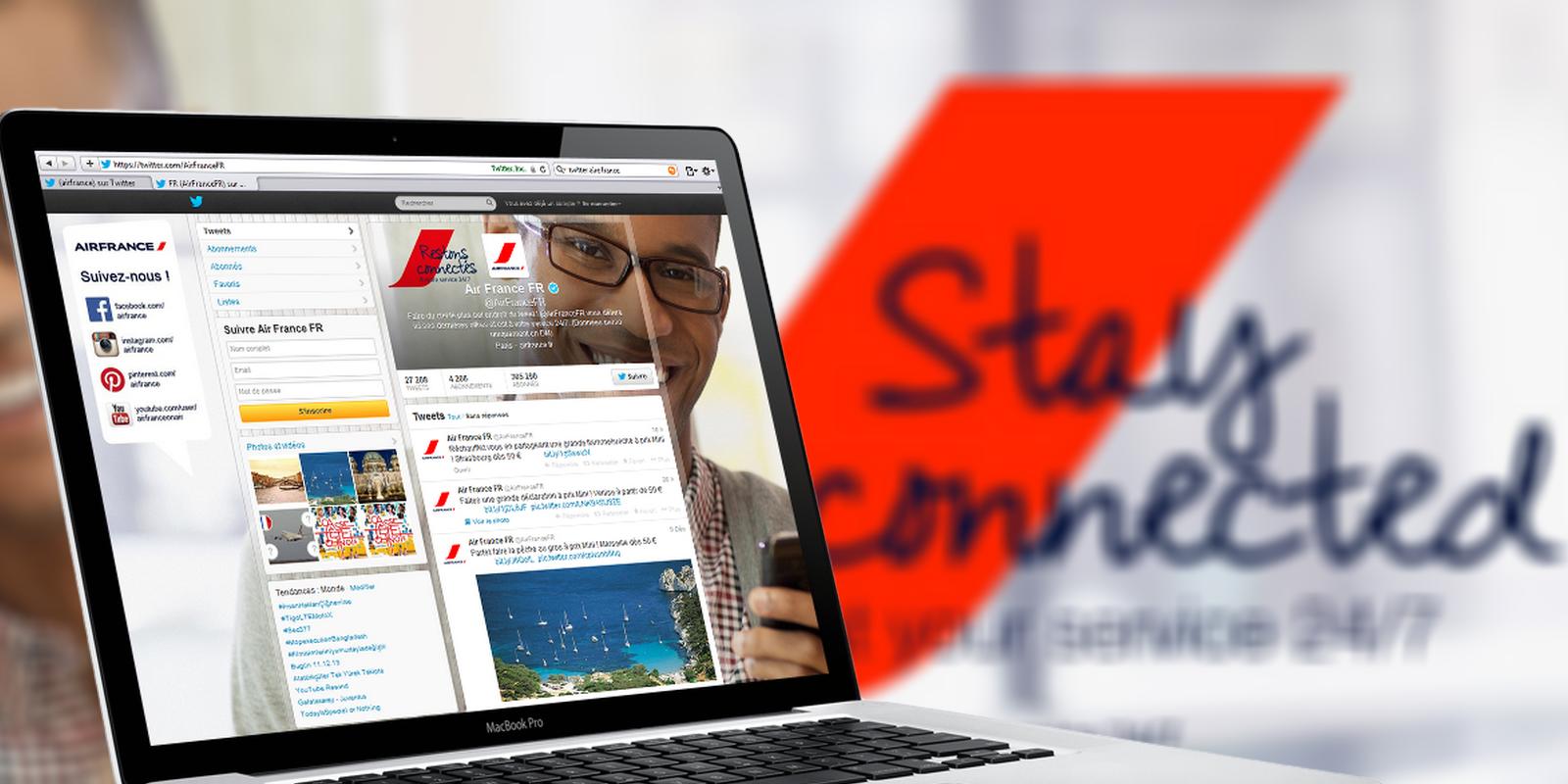 [Ecoute Client] Air France écoute ses clients 24h sur 24